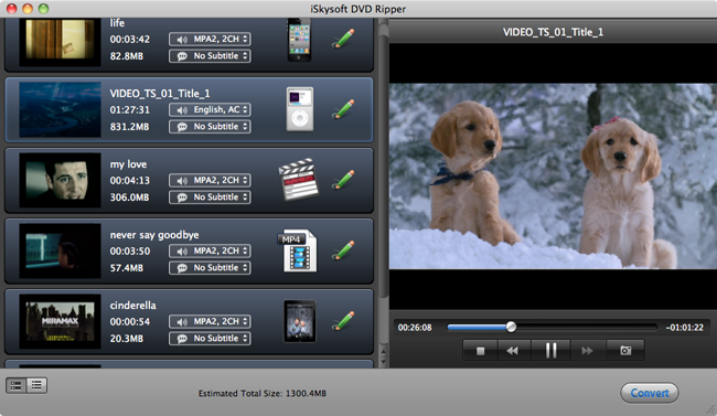 import DVD to Final Cut Pro X